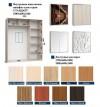 шкаф-купе 1800  с пескоструйным рисунком - 2
