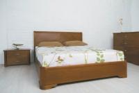кровать МИЛЕНА  с интарсией (120) - 1303