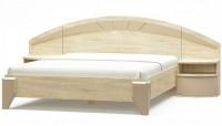 кровать 160 АЛЯСКА с тумбами - 1769