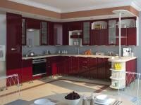 кухня СОФИЯ ЛЮКС 2,9х3,45х1,5 - 881