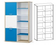 книжный шкаф ЛЕО - 1513