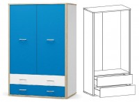 шкаф 2Д2Ш ЛЕО - 1512