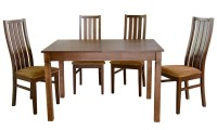 Раскладной  стол КАРПАТЫ+ 4 стула АНДРА - 823