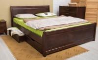 кровать СИТИ с филёнкой и ящиками - 1368