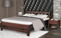 кровать 160 ВЕРОНА (дуб шпон) - 1792